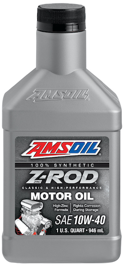 Z-ROD 10W-40 Synthetic Motor Oil (ZRD)