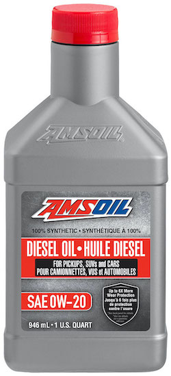 Synthetic Diesel Oil SAE 0W-20 (DP020)